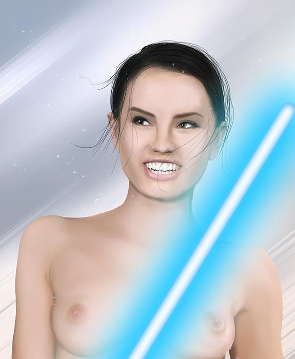 awakens the force star wars porn rey Dragon quest heroes robbin ood