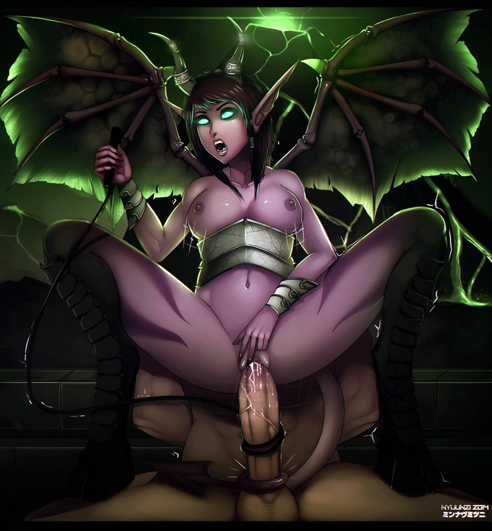 hentai warcraft world of human Trials in tainted space cyborg