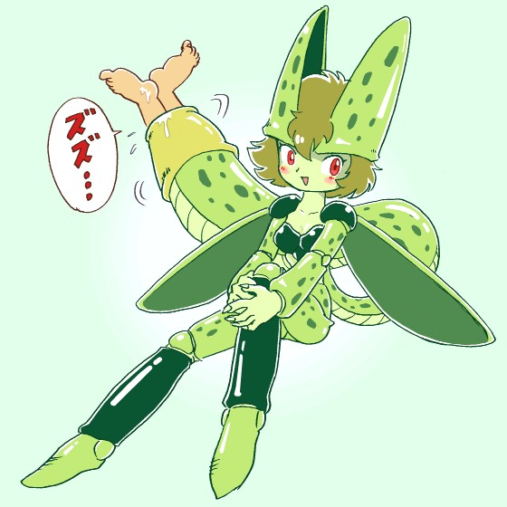 ball z cell dragon from Ao-no-exorcist