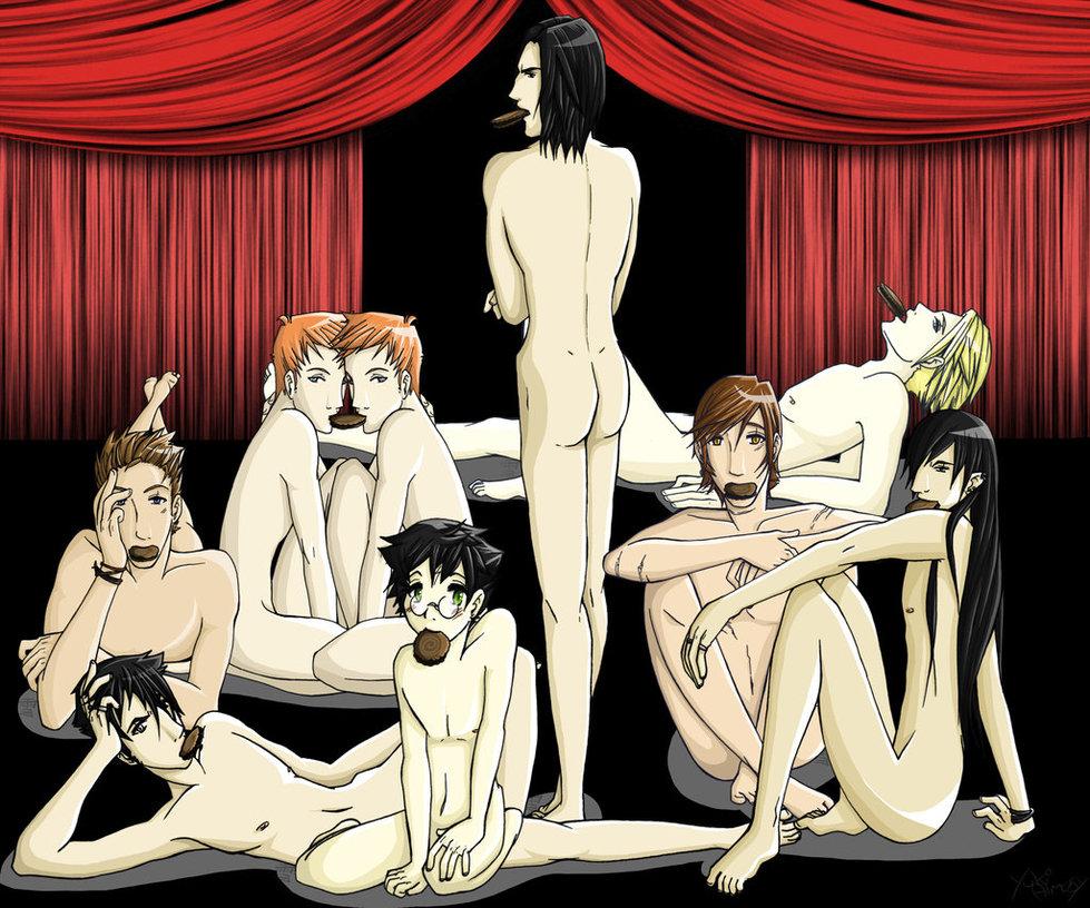 yaoi x doujinshi harry draco She ra and the princesses of power perfuma