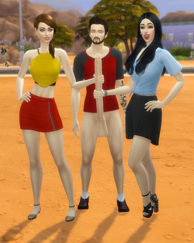sims nude 4 the clothes Giantess doki doki literature club