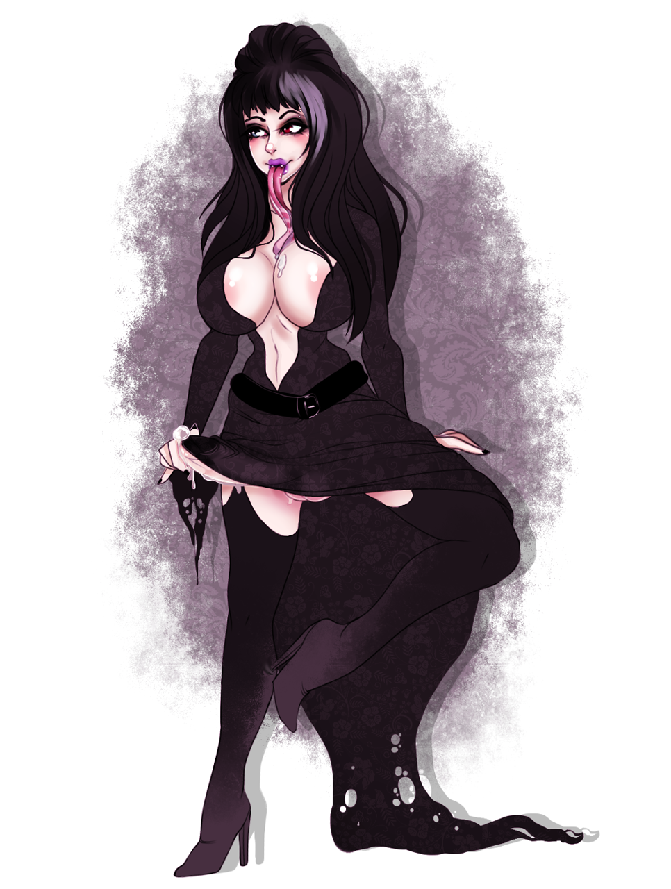of mistress elvira the tits dark Who the fuck is beanie eyelash