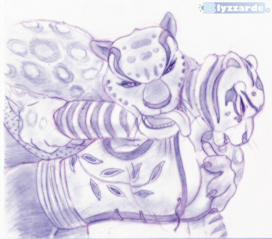 kung is po fanfiction panda fu tiger a Paheal league of legends