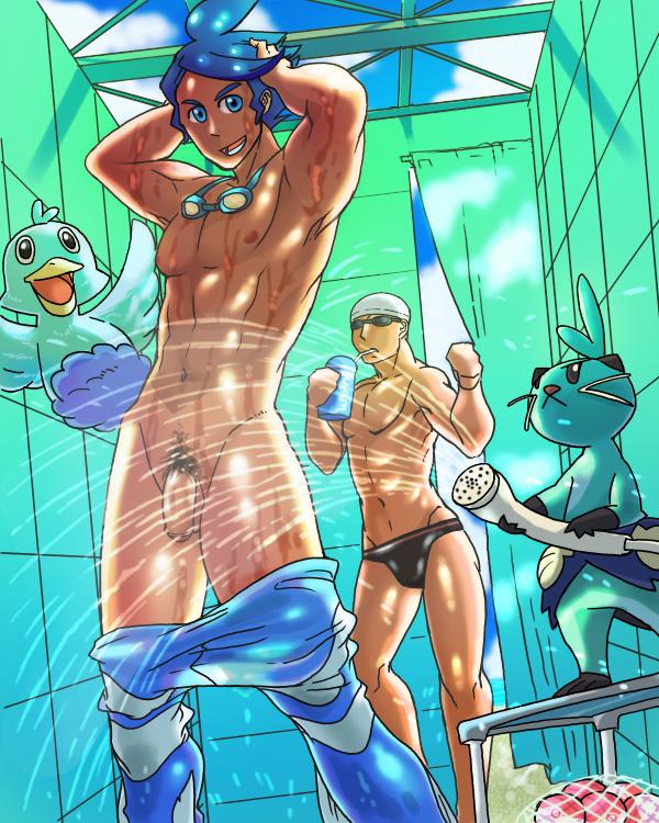 trainer male pokemon x male lemon Please don't bully me nagatoro