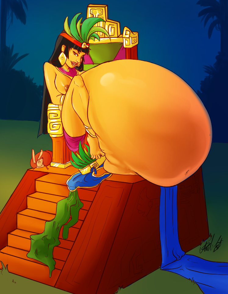 eldorado' road from chel to 'the Legend of the 3 caballeros