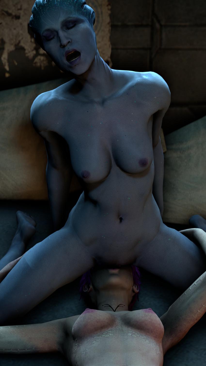 nude cora effect andromeda mass Jojo's bizarre adventure - golden wind