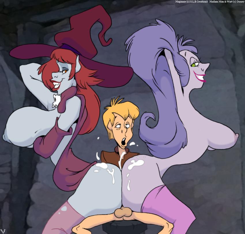 sarutobi mirai age boruto in 3d cartoon of girl taking huge horse cock
