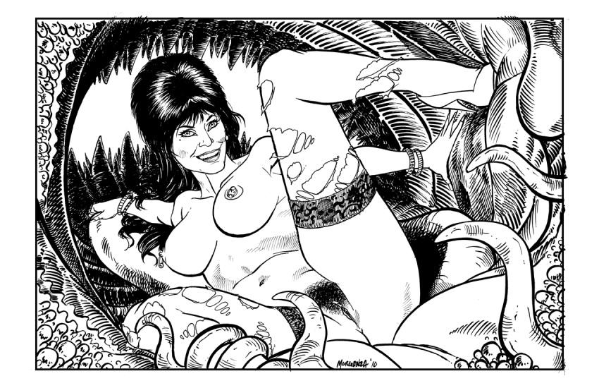 mistress dark tits of the elvira Star wars the force awakens rey nude