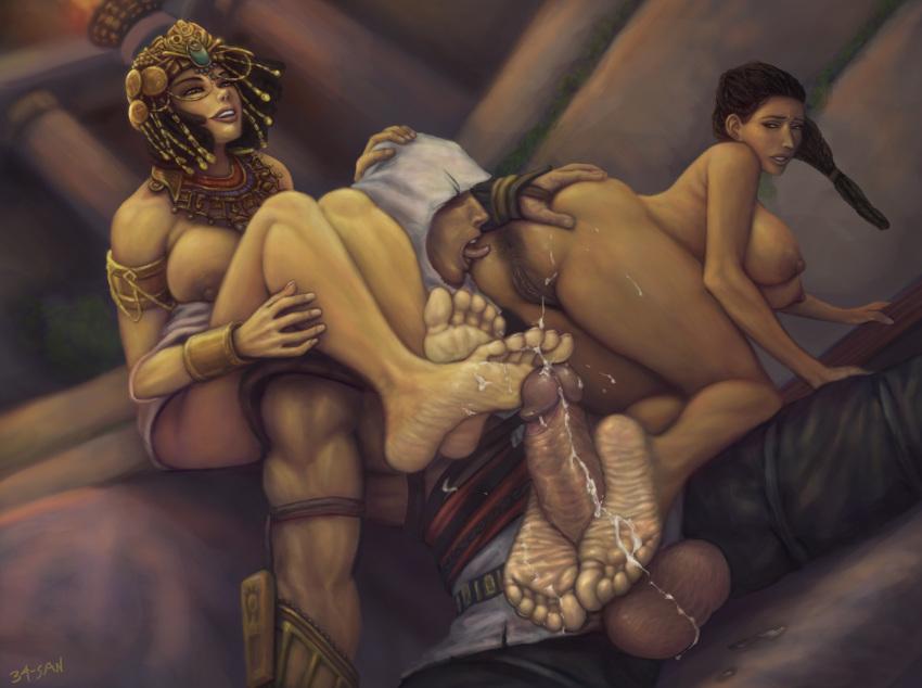porn creed origins cleopatra assassin's His coconut gun fires in spurts