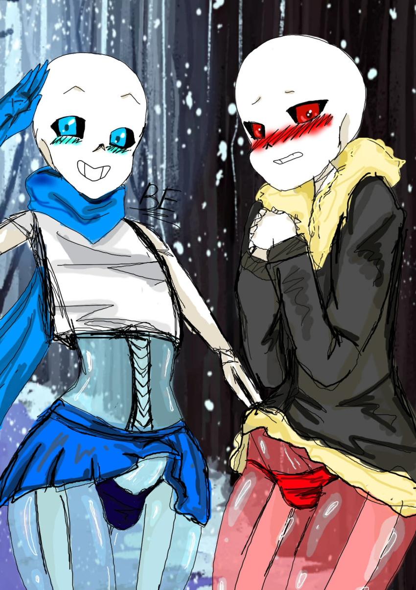 underswap underswap papyrus sans x Five nights in anime sister location