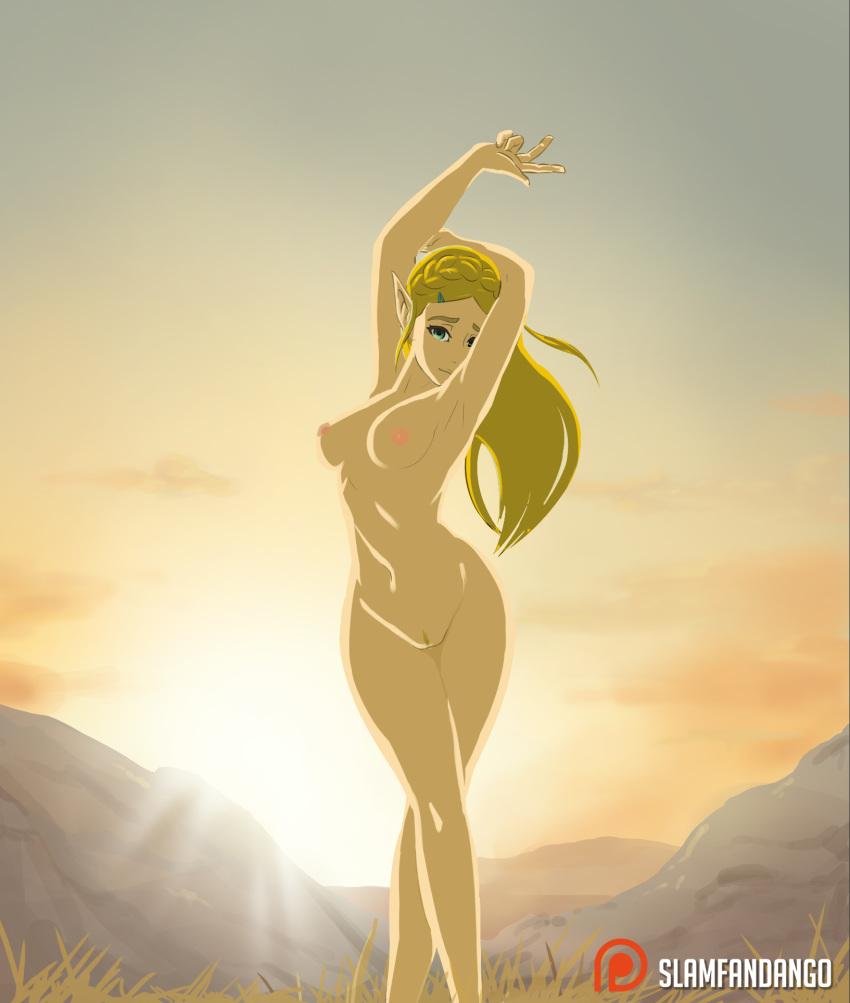 of wild breath nude the zelda Yuragi-sou no yuuna-san nudity