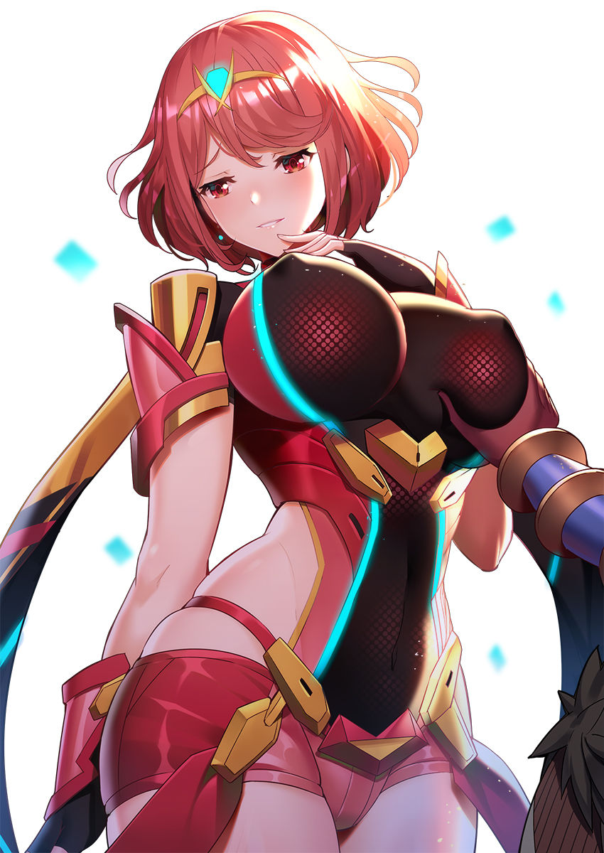 chronicles 2 comic porn xenoblade A sexy naked girl cocooned in a spider's web