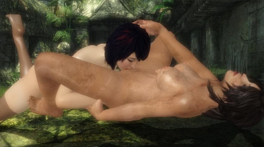 nishimura and lara croft sam Tsuma ga kirei ni natta wake hentai